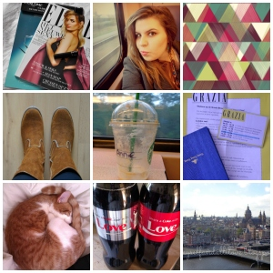 collage photo diary 1