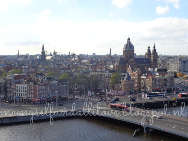 View amsterdam from skylounge