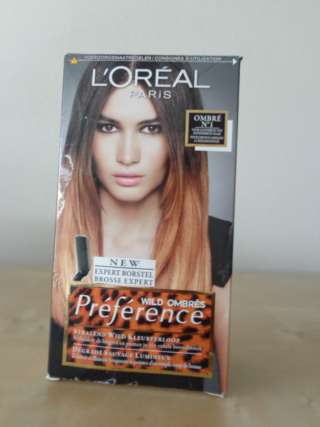 loreal preference wild ombres
