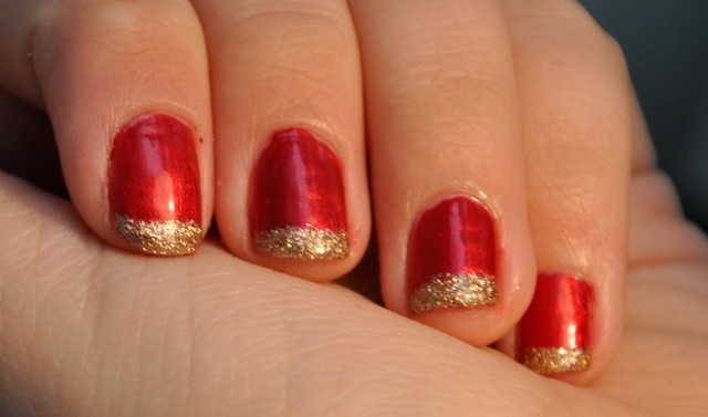 China glaze cranberry splash champagne kisses