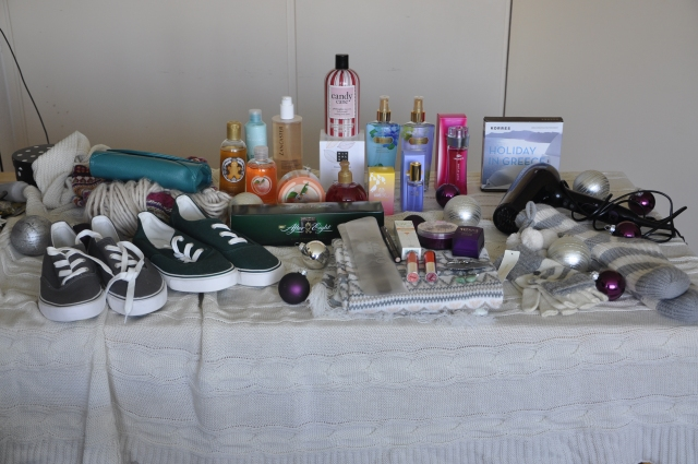 Shoplog kerst