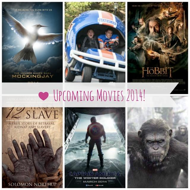 upcoming movies 2014