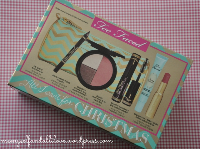 too faced all i want for christmas 3