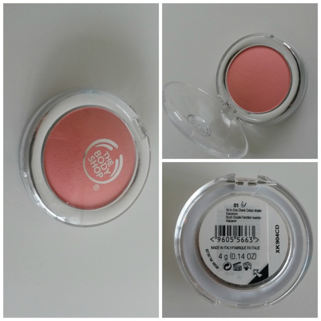 the body shop blush 01 macaroon