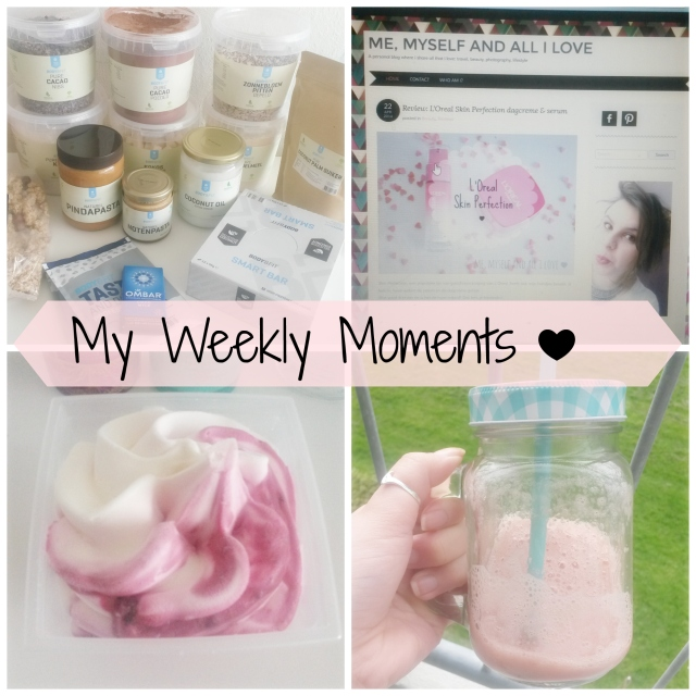 weekly moments