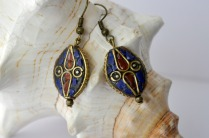 lapiz lazuli earrings 2