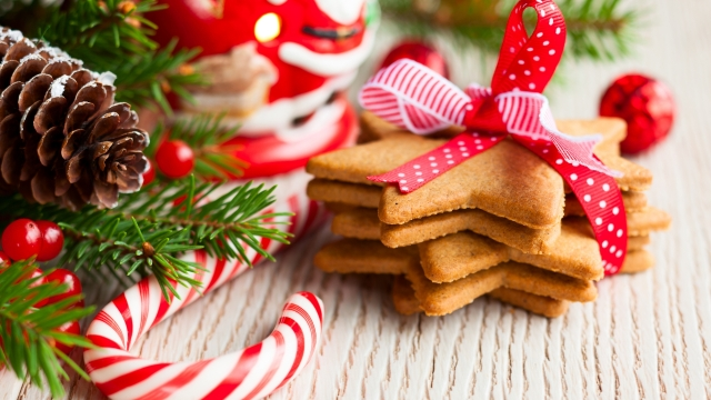 christmas cookies wallpaper98146
