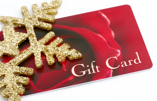 giftcard for christmas (Small)