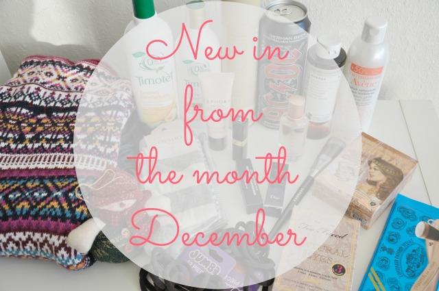 new in december 1