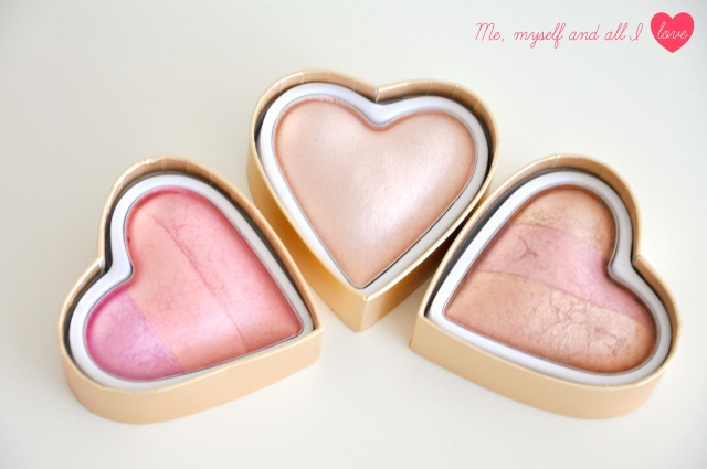 makeup revolution blushing hearts