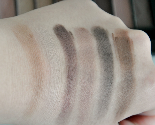 makeup revolution essential mattes 2 swatches2
