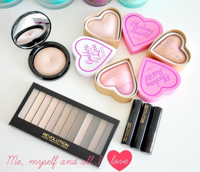 makeup revolution makeup1