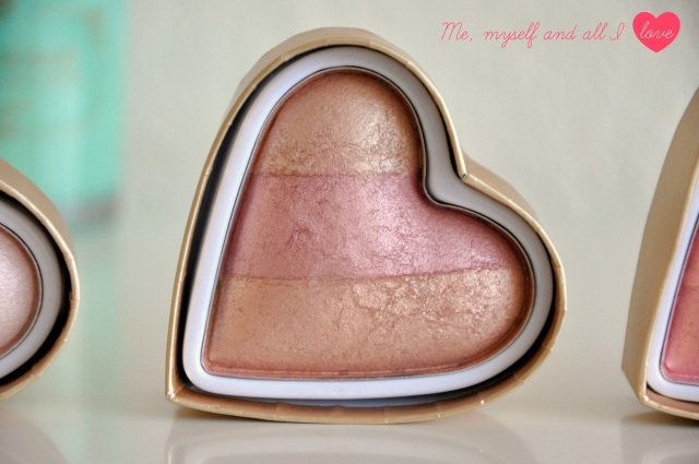 makeup revolution peachy keen heart