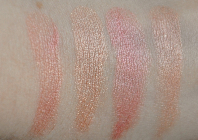 makeup revolution peachy keen swatch
