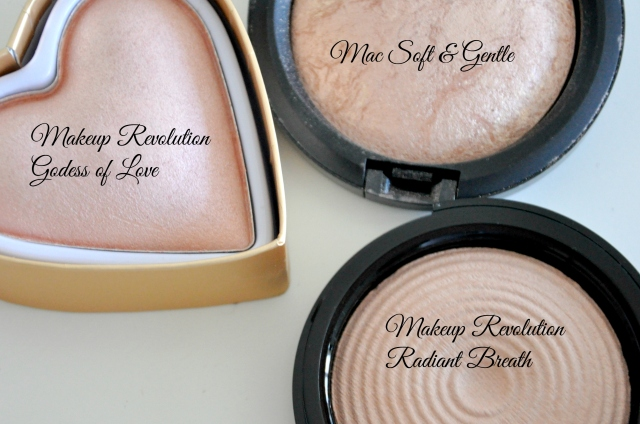 Makeup Revolution vs Mac
