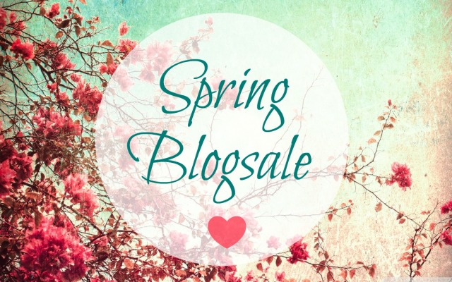 spring blogsale