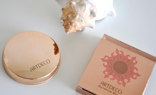 artdeco sunshine blush review 2