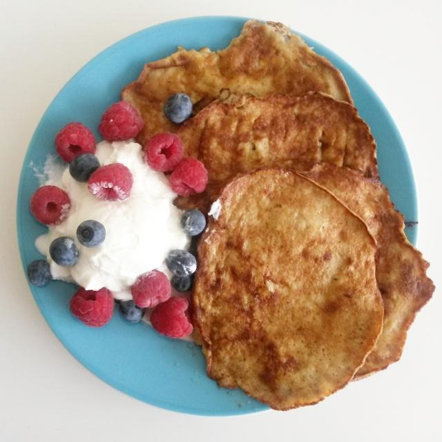 Banana pancakes recepy