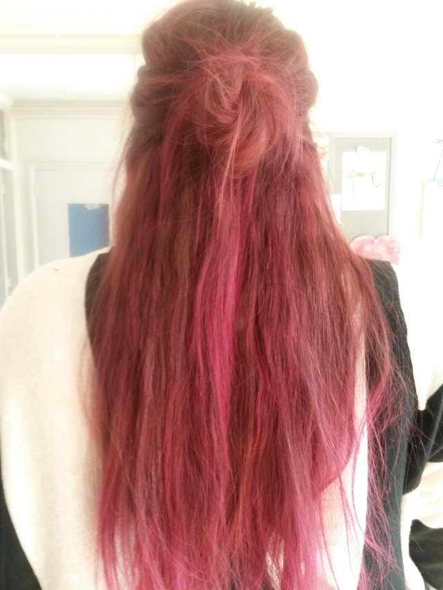 Directions hairdye rose red