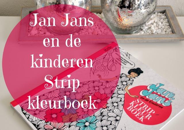 jan jans en de kinderen kleurboek
