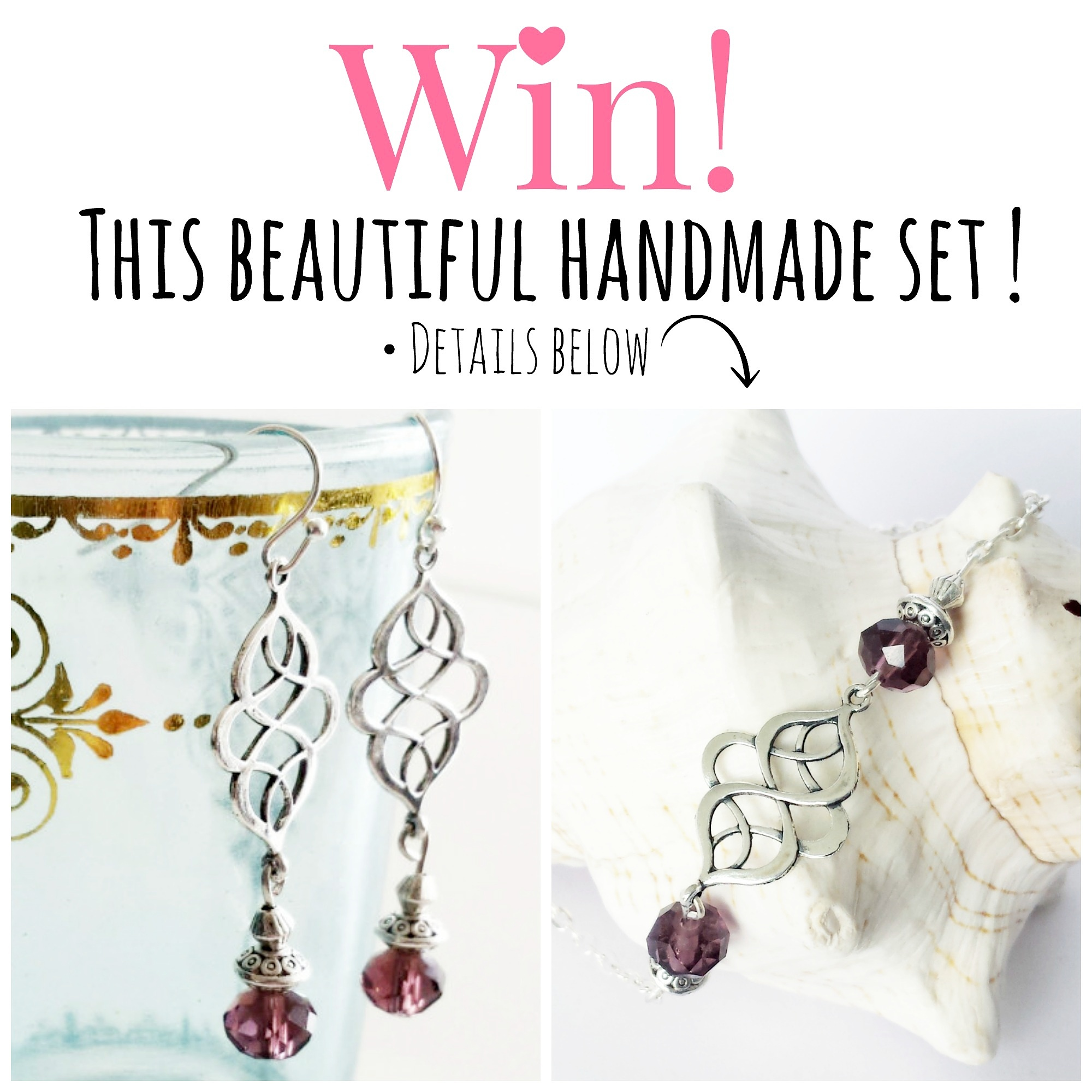 Win! A beautiful jewelry set | Me, myself and all I love